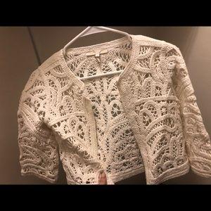maje lace blazer size 1